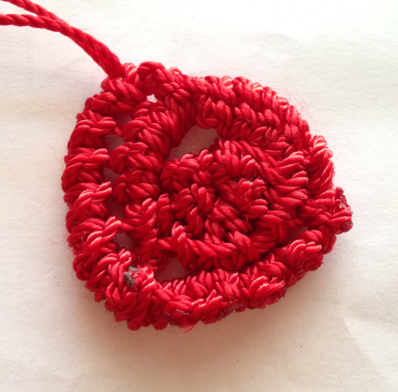macrame heart tutorial
