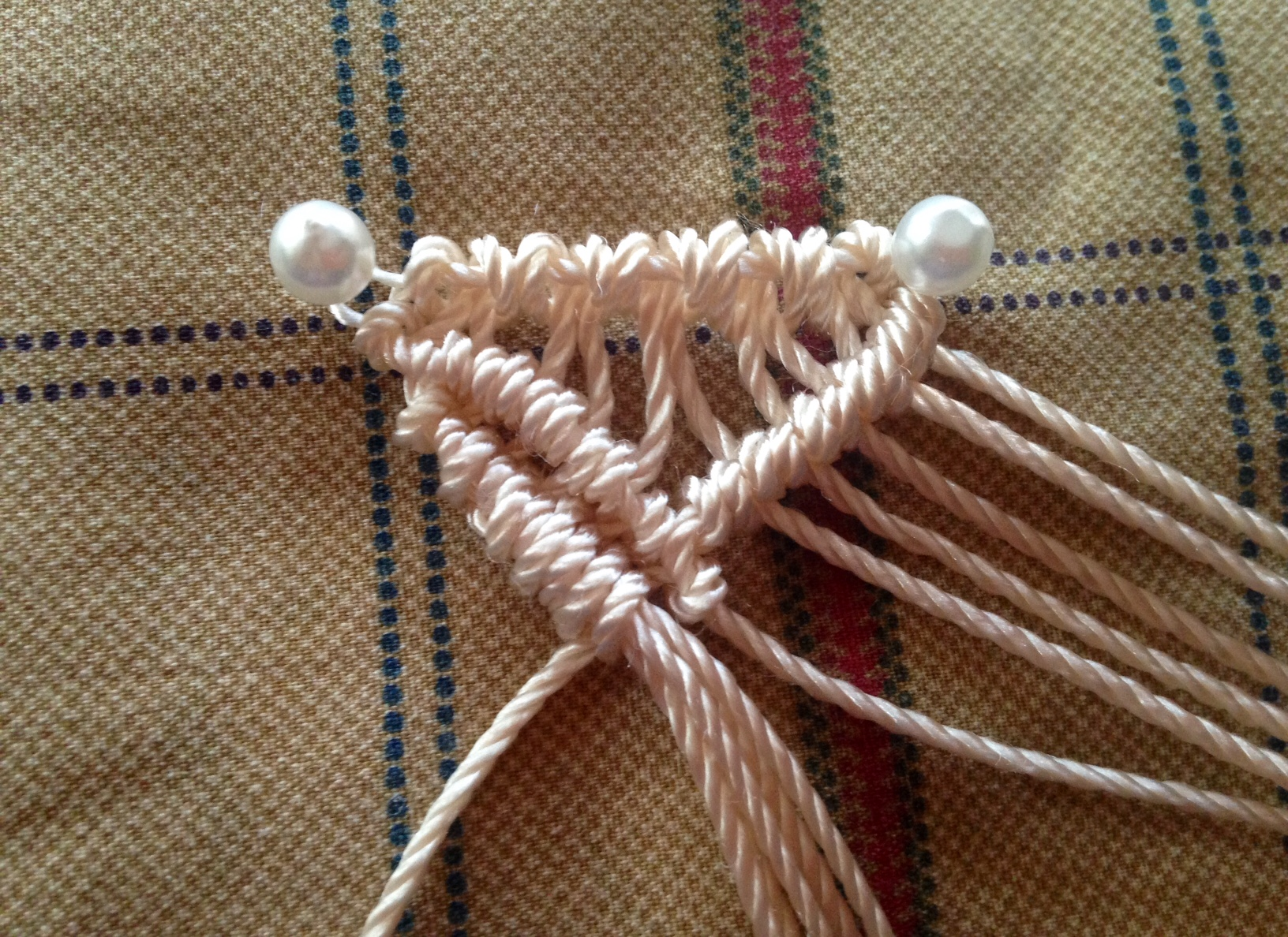 macrame edge finishing