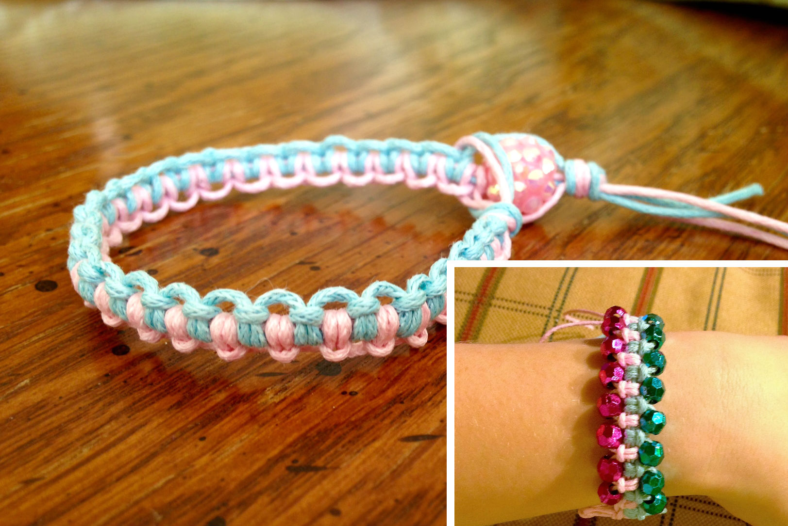 macrame bracelet patterns