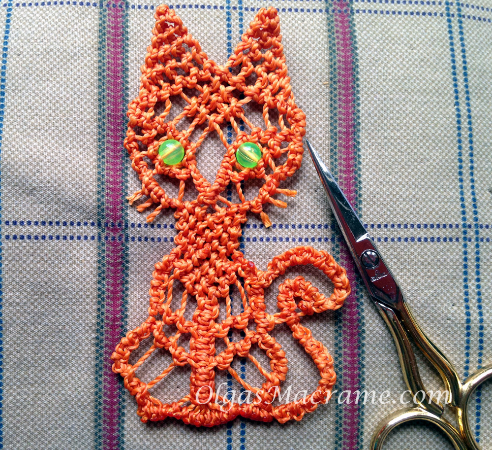 macrame cat tutorial