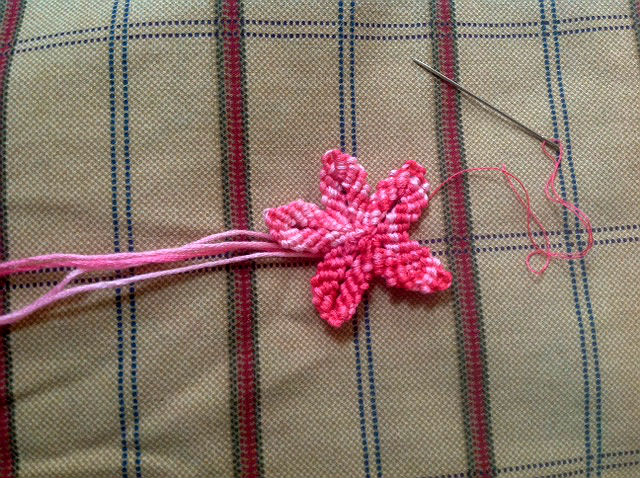 macrame flower easy