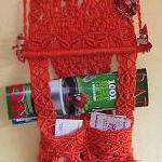 Macrame Wall hanging / Newspaper holder