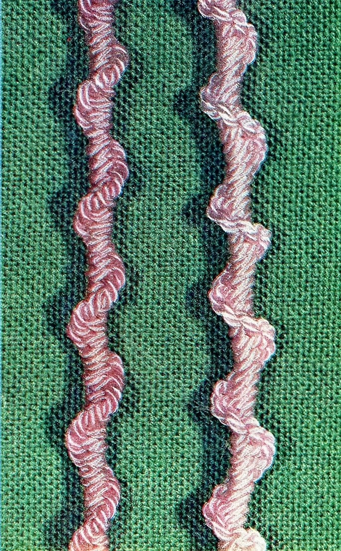 macrame spiral braid