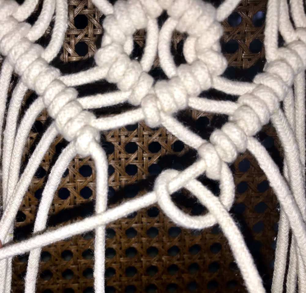 macrame wall hanging free instructions