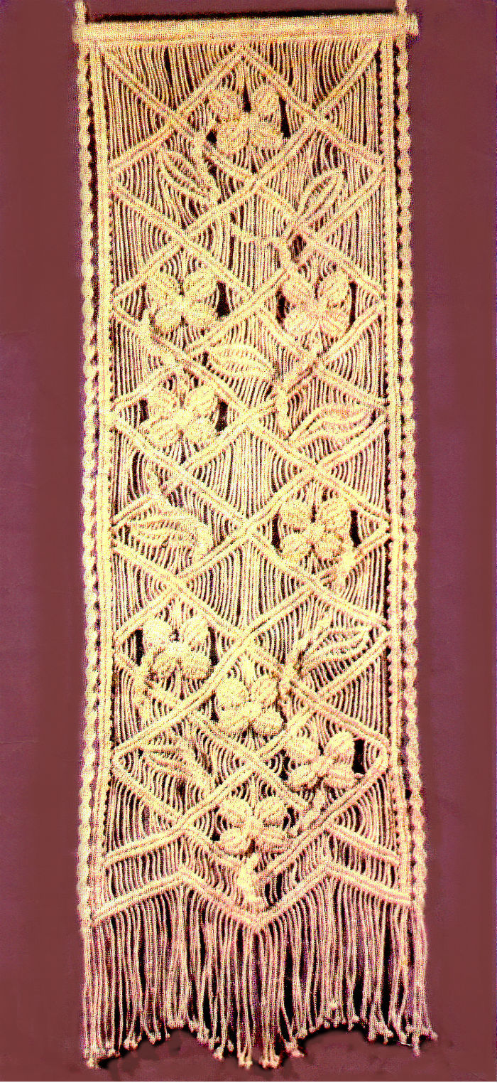 macrame wall hanging tutorial
